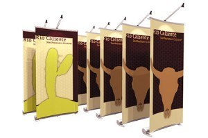 Portable Banner Stands in Austin