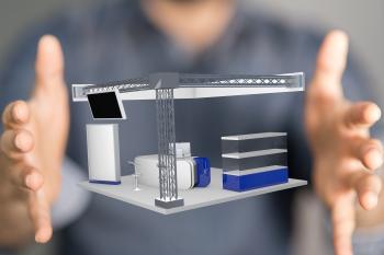 custom trade show booth design skyline