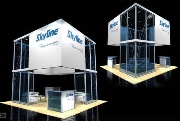 20x20 Corporate Lounge Skyline