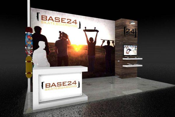 Skyline Display - Base24 Skateboarding