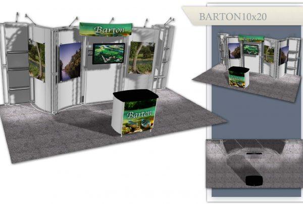 Austin Used Trade Show Display - Barton 10x20