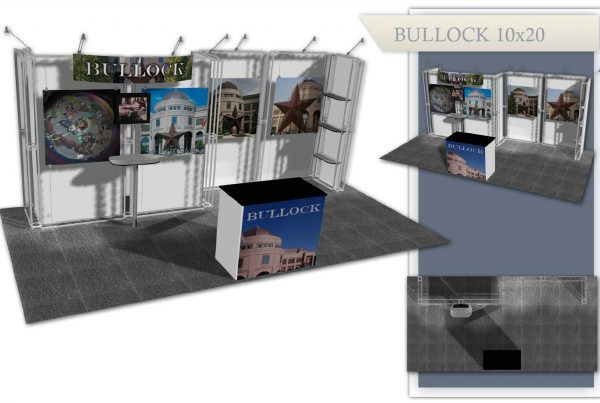Austin Used Trade Show Booth - Bullock 10x20