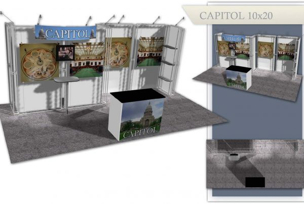 Capitol Used Trade Show Booth - 10x10