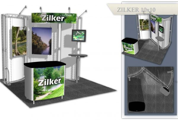 Used Trade Show Display - Zilker 10x10