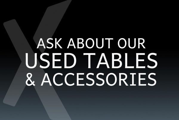Used Tables and Accessories at Xtreme Xhibits