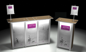 Trade Show Displays: Tables & Accessories