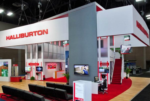 Halliburton Island Display