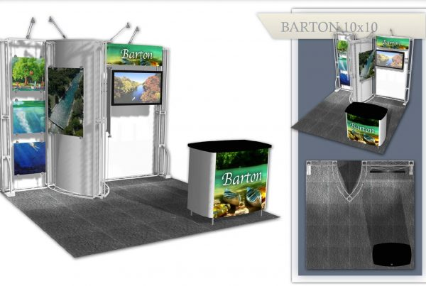Austin Used Trade Show Booth - Barton 10x10