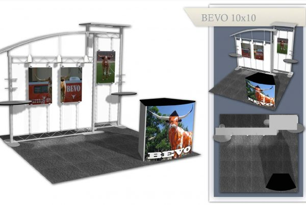 Used Trade Show Exhibit: Bevo 10x10