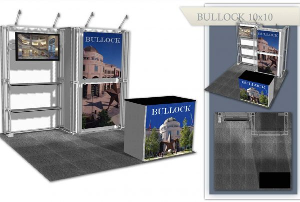 Austin Used Trade Show Booth - Bullock 10x10