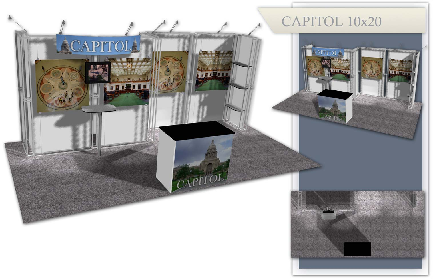 Used Trade Show Booth : Used trade show exhibits xtreme xhibits