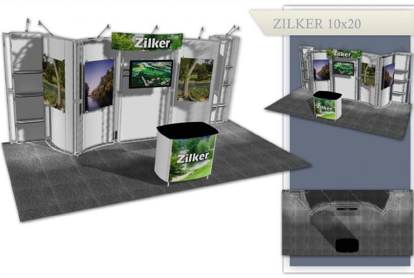 Austin Used Trade Show Display - Zilker 10x20