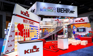 Trade Show Displays: Large Graphic Structures