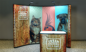 Trade Show Displays: Pop-up and Backwall Displays