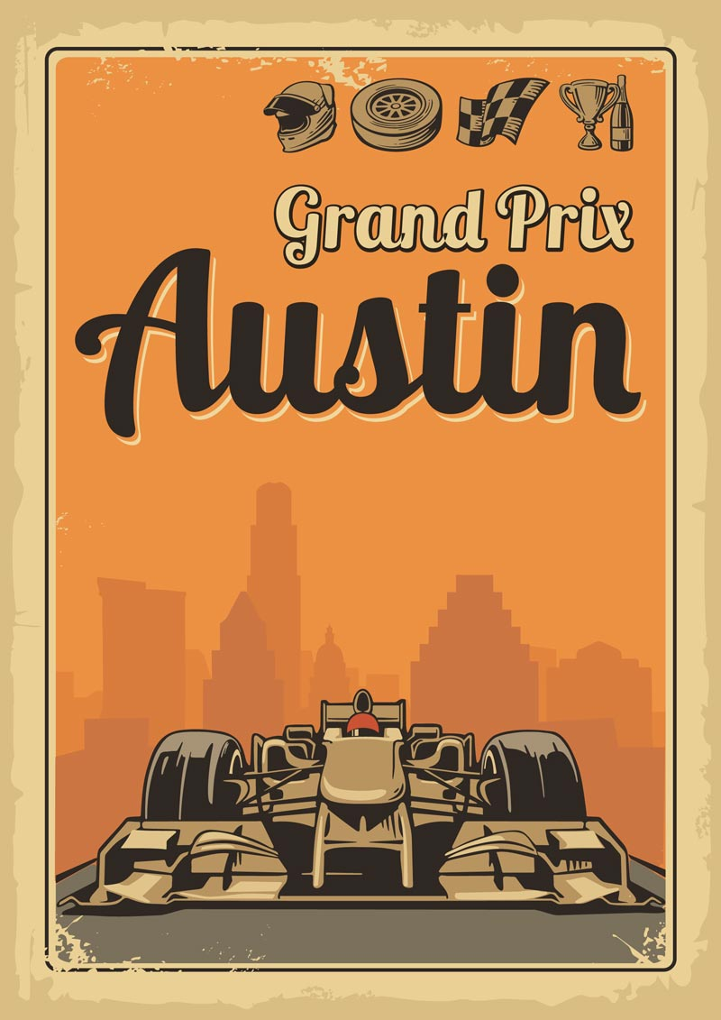 Welcome to Austin for the Grand Prix